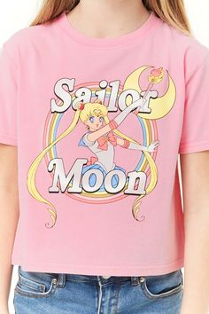 Forever 21 is the authority on fashion & the go-to retailer for the latest trends, styles & the hottest deals. Sailor Moon Shirt, Sailor Moon Outfit, Sailor Moon Birthday, Looks Kawaii, Cute Fashion, Fashion Outfits, Sunday Clothes, Marvel Clothes, Summer Outfits For Teens