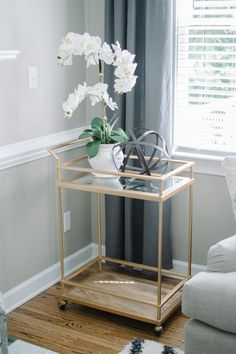 Love this bar cart from Target