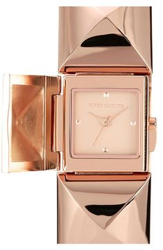 Rose Gold, Vince Camuto Pyramid Station Bracelet Watch | Nordstrom