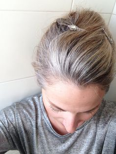 Grey is the new blonde | Or is it silver?