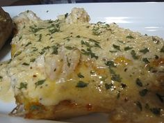 Red Fish w/Pontchartrain Crab & Shrimp Butter Sauce