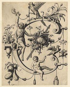 C Johann Theodor de Bry  Nova Alphati effictio 1595