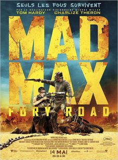 MAD MAX: FURY ROAD. Hanté par un lourd passé, Mad Max estime que le meilleur moyen de survivre est de rester seul. Cependant, il se retrouve embarqué par une bande qui parcourt la Désolation à bord d'un véhicule militaire piloté par l'Imperator Furiosa.