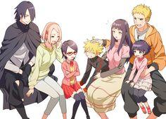 Uchiha & Uzumaki Families