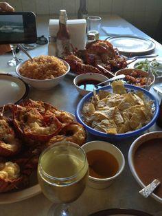 Langosta Estilo Puerto Nuevo, Baja California / Puerto Nuevo Lobster, Baja.    Mauricio Parra.
