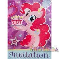 My Little Pony 'Pinkie Pie' Invitations w/ Envelopes (8ct)