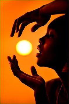 My sun...
