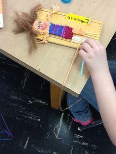 Ms. Allen's Art Room: Weaving Buddies