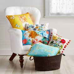 The Pioneer Woman's signature country-chic style encourages mixing and matching for an eclectic down-home look that complements your individual tastes. The Pioneer Woman Decorative Pillows fe… Cute Pillows, Decorative Throw Pillows, Bed Pillows, Cushions, Decorative Items, Pioneer Woman Kitchen, Woman Bedroom, Master Bedroom, Beautiful Morning