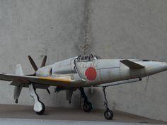 "Plastic Model Zoukeimura 1/32 Kyushu J7W1 ""Shinden"""