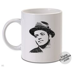 bruno mars12, Coffee mug coffee, Mug tea, Design for mug, Ceramic, Awesome, Good, Amazing