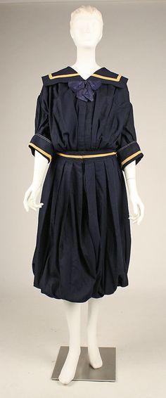 Gym suit, 1909 & Present day MCA