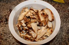 Handmade Happiness: Chipotle Chicken I used half the salt and added the vinegar. When marinated over night this recipe had powerfully yummy flavor!