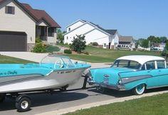 1957 Chevrolet Bel Air & 1958 Bell Boy Banshee