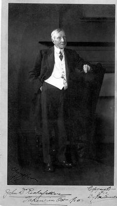 John D Rockefeller, 1920