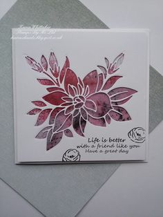 Afternoon xx Im excited to share more of my samples for the brand new Paper Piece dies available from Stamps By Me These are stunning d. Paper Background, Background Ideas, Flower Paper, Craft Stash, Distress Oxides, Im Excited, Cherished Memories, Shaker Cards, Paper Piecing