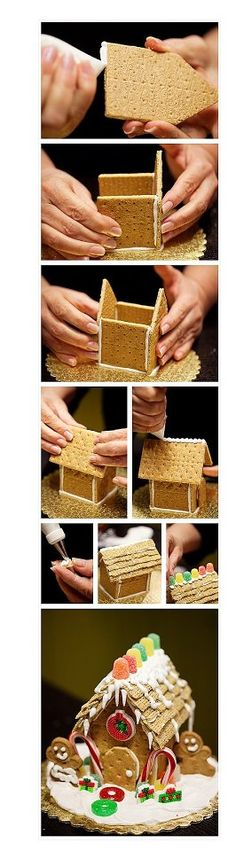"Graham Cracker ""GingerBread"" House"