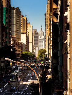 Avenida São João - São Paulo, Brasil