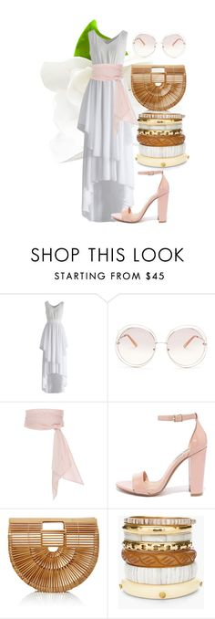 """""""2016: sweet pink n white"""" by abelaz on Polyvore featuring mode, Chicwish, Chloé, MDS Stripes, Steve Madden, Cult Gaia et Chico's"""