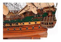 Friesland Wooden Ship Model, Tall Ship Frigate Decor