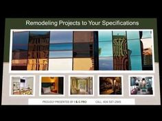Remodeling Contractors Chamblee GA |404-587-2945| I&G Pro for Home Repairs