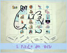 PF ha sempre amato i puzzle fin da piccolissimo. Ne abbiamo la casa letteralmente invasa: grandi, piccoli, medi, da colorare, in bianco, tridimensionali, di legno, in 3 D, a forma di boccia, di pi...