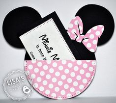 Custom Minnie Mouse Invitations Best Of Minnie Mouse Birthday Invitations Pink and Cream Handmade by Mickey Mouse Birthday Invitations, Minnie Birthday, Birthday Cards, Birthday Ideas, 3rd Birthday, Travel Journal Scrapbook, Disney Scrapbook Pages, Scrapbook Layouts, Mickey Mouse Clubhouse