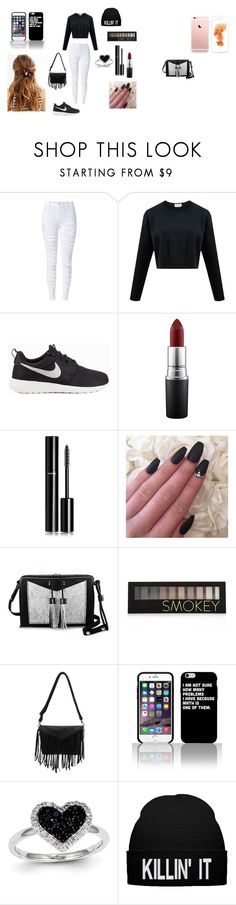 """Fall"" by emmasartorius on Polyvore featuring NIKE, MAC Cosmetics, Chanel, Carianne Moore, Forever 21 and Kevin Jewelers"