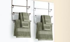 Groupon - Over the Door 3-Tier Towel Racks. Multiple Styles Available. Free Returns. in Online Deal. Groupon deal price: $13.99