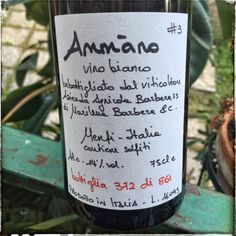 Ammàno #3 (2015) di Marilena Barbera http://intothewine.org/2016/06/10/ammano-3-2015-marilena-barbera-2/