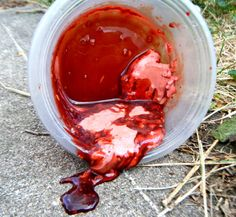 How to make all kinds of bloody goo, such as dark/thin blood, thick/realistic blood, dripping blood, scabs, guts, etc. Awesome!