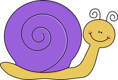Yellow and Purple Snail