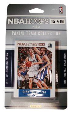 New! Dallas Mavericks 2015-2016 Panini Hoops Team Set #DallasMavericks