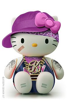 Gangsta kitty!   A bunch of different HK looks on this site :-)