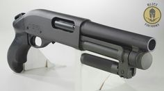Door breacher shotgun