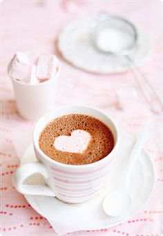 Hot Chocolate  Marshmallows by *bossacafez