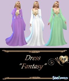 Fantasy Dress By LeonaLure