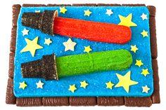 Star Wars-Inspired Birthday Cake Design