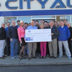 CityAuto #Murfreesboro supports United Way of Rutherford and Cannon Counties with $5,000 for 2014!