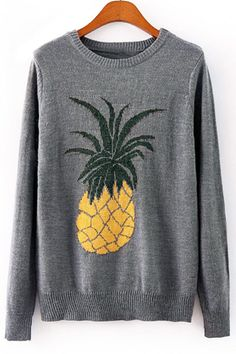 Boatneck Boyfriend Tee - Pretty Pineapple VI by VIDA VIDA Best Place For Sale Cheap Fashion Style Clearance 2018 Newest Fast Express H1EyH8C