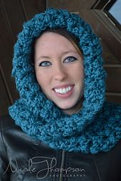 Ravelry: Wintertide Scoodie (Child and Teen/Adult) pattern by Boomer Beanies