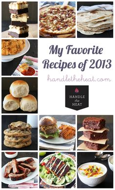 2013 Year in Review: Best Recipes  from Handle the Heat