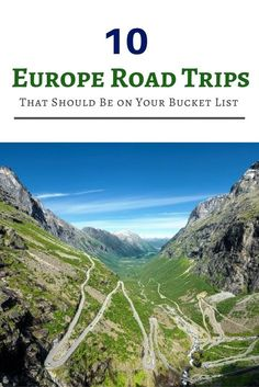 Here are 10 of the best road trip routes to try in Europe. http://finelinedrivingacademy.co.uk
