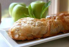 Яблочный штрудель - лучшие кулинарные рецепты - Как правильно