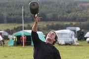 TEAM USA Britain Bound: Bryan Clay and Jeremy Campbell visit Invercharron Highland Games