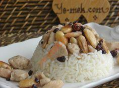 Tavuklu Saray Pilavı Resimli Tarifi - Yemek Tarifleri