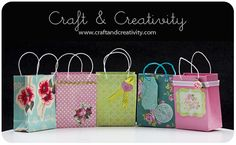 Craft of the Day, gift bags   How to make a gift bag