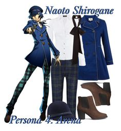 """""""   Naoto Shirogane ~ Persona 4: Arena   """" by miyu-san ❤ liked on Polyvore featuring Yumi, Rosetta Getty, Morgan, H&M and Tommy Hilfiger"""