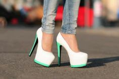 Colorful shoes will be the new trend for this summer. We all love colors especially in summer, we want a vibrant outfit and feeling beautiful and comfortable with our shoes. Bellow you will find the most amazing colorful shoes for this year. Dream Shoes, Crazy Shoes, Me Too Shoes, Heeled Boots, Shoe Boots, Ankle Boots, Saddle Shoes, Pretty Shoes, Beautiful Shoes
