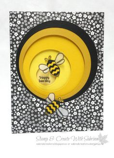 Stamp & Create With Sabrina: Sneak Peek - Pun Intended - Bee - Hostess Stamp Set